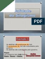 Validade do silogismo