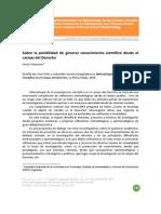 Metodologia de La Investigacion Cientidica en El Campo Del Derecho Orler Jose