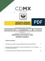 Presupuesto GDF 2015