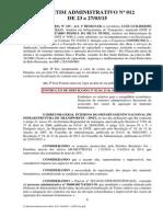 DNIT - Instrução de Serviço 02/2015