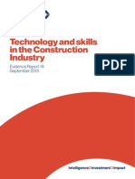 Technology and Skills in the Construction Industry Evidence Report 74(1)
