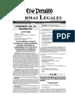Aprueban Reglamento ECASs Del Aire