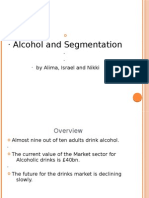 Segmentation on Alcoholic Drinks