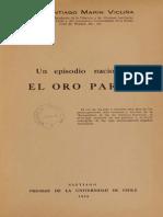 Santiago Marín Vicuña - El Oro de Paraf