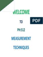 Physics, Measurement trechniques