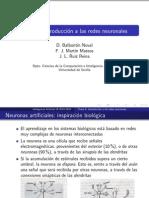 Introducción a las redes neuronales