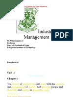 Industrial management unit 1 notes