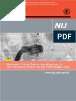 2009 - NIJ Electronic Crime Scene Investigation - OnScene Reference.pdf