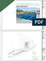 Patton Park pool plans, Hamilton, Mass.