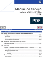 Diagnostico de FalhasMotor MWM 4.10