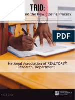 REALTORS® and the New Closing Process Survey
