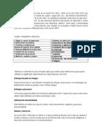 Comparacion Entre Las Iso 9001 de 2008 y La Nueva 2015 Roberto Diaz Genes