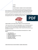 Rechazo Carnes (Manual)