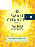 52 Small Changes for the Mind (Excerpt)