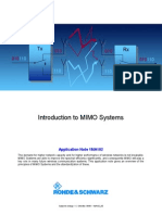 Introduction to MIMO Systems