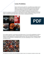 10 Películas Españolas Prohibidas