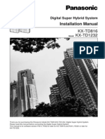 Panasonic KX-TD1232 Installation3