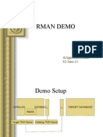 RMAN Demo New