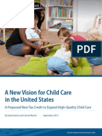 A New Vision for Child Care in the United States