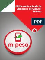 m Pesa Conditii Contractuale