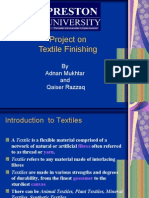 presentation on textile finishing