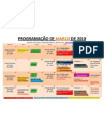 ProgramaÇÃo de MarÇo de 2010