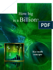 Key Math Concepts - How Big is a Billion?