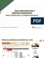 001_Introducción Finanzas Corporativas - Gestión Financiera