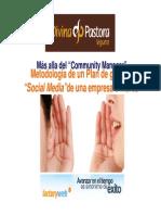 Plan de Social Media Divina Pastora