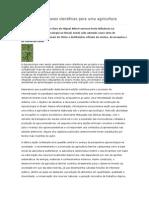 Agroecologia Bases Científicas Para Uma Agricultura Sustentável