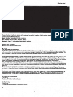 Letter from the Northern California Society of Professional Journalists Freedom of Information Committee to Berkeley Mayor Tom Bates and Police Chief Michael Meehan