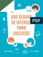 Uso Seguro de Internet Para Docentes Web v2