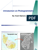 Introduction on Photogrammetry by Koert Sijmons