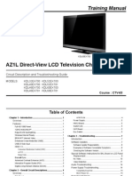 Sony Kdl 32ex700 Kdl 46ex700 Chassis Az1l Training Manual