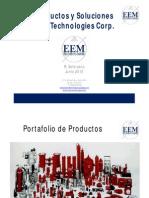 Linea de Productos EEM Technologies (Hidraulica)