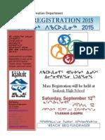 Mass Registration 2015