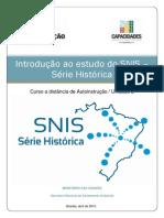 Introdução ao Estudo do SNIS - Série Histórica Autoinstrução