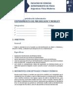 Guía Laboratorio Experimento de Michelson y Morley