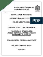 Cronologia PLC
