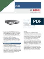Bosh Dvr Series 630-650