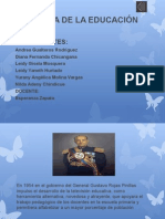 Historia de La Educacion Diapositivas