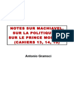 Gramsci Notes sur Machiavel