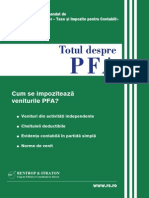 3 Cum Se Impoziteaza Veniturile PFA