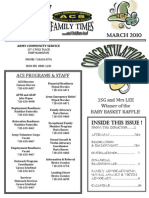 ACS March 2010 Newsletter