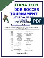 Soccer MTech Soccer Tournament Schedule_v2 2015