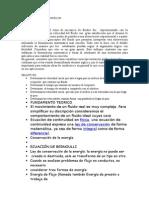 Informe de Hidrostatica