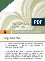 Motivación y Emoción Clase 1