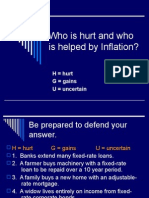 Who is Hurt and Who is Helped by Inflation