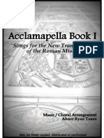 Acclamapella Book I