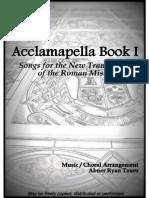 Acclamapella Book I